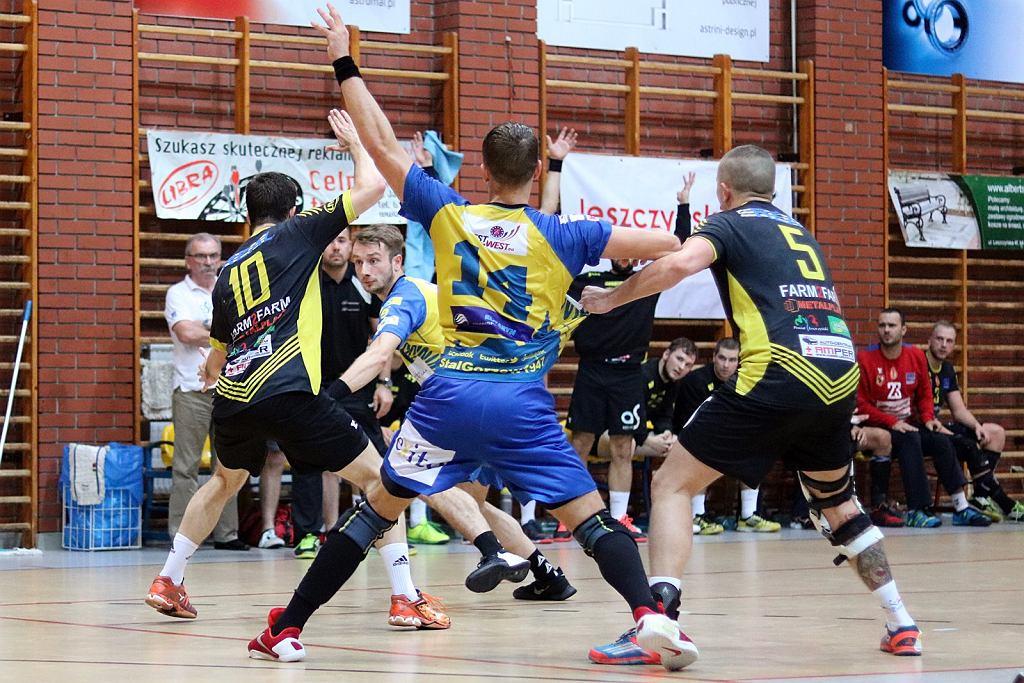 Pierwsza liga piłkarzy ręcznych: Real Astromal Leszno - Stal Gorzów 22:22 (9:11)