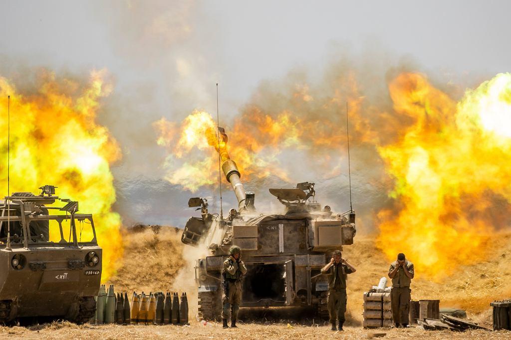 Bombardowania w Strefie Gazy