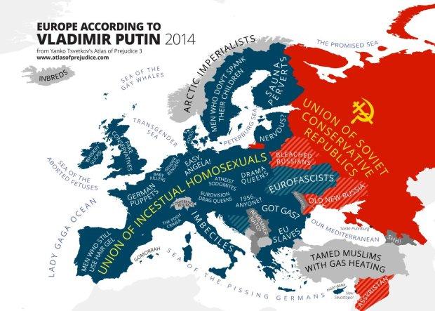 Mapa Europy Wedlug Putina Czy To Tylko Zly Sen