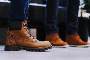 Stylowe buty Caterpillar - niezbędnik męskiej, jesiennej garderoby