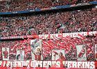 Bundesliga. Czerwone krzesełka na Allianz Arenie w 2018 roku