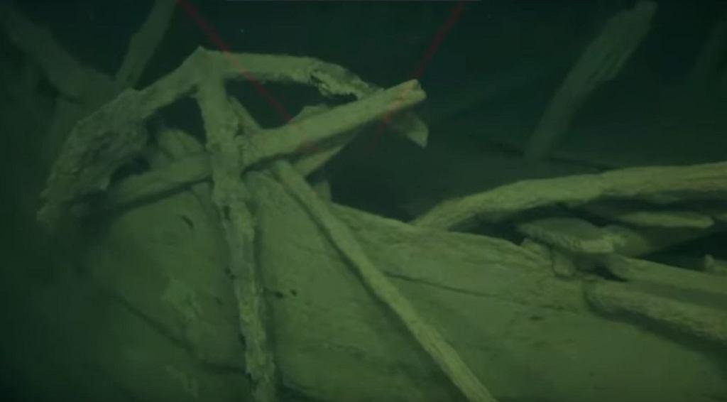Niezwykłe odkrycie na dnie Bałtyku. Świetnie zachowany żaglowiec 'Okänt Skepp' w morskich głębinach
