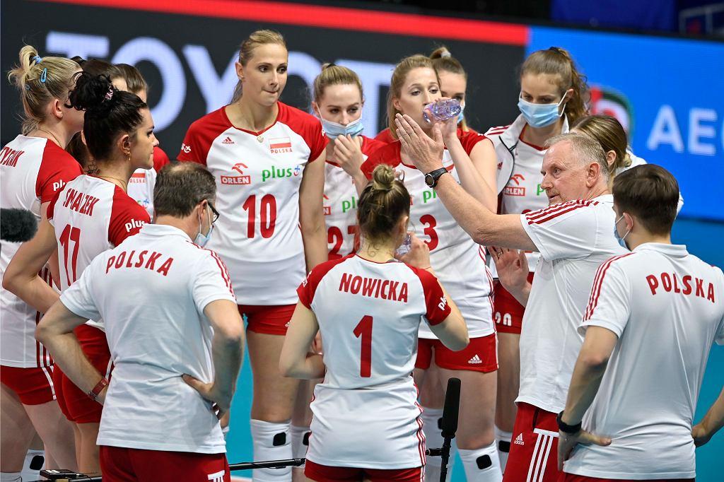 Siatkówka: Mecz Polska - Włochy siatkarek podczas Ligi Narodów