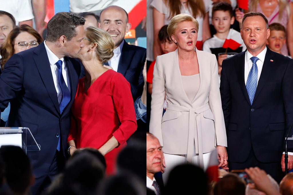 Żony kandydatów na prezydenta