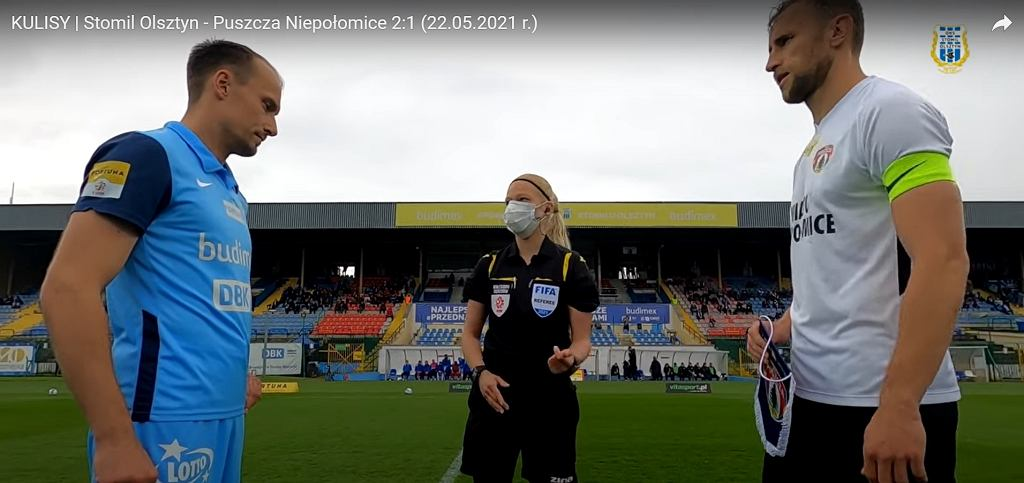 Pierwsza kobieta w historii poprowadziła mecz Fortuna I Ligi