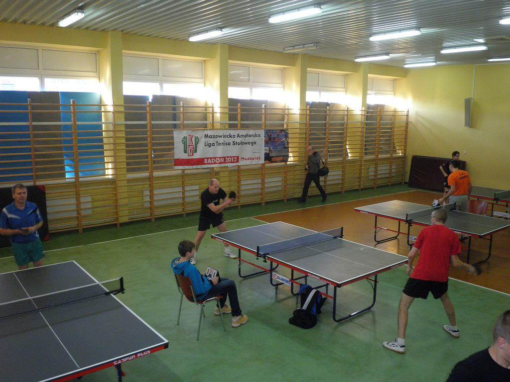 Amatorska Liga Tenisa Stołowego w Radomiu