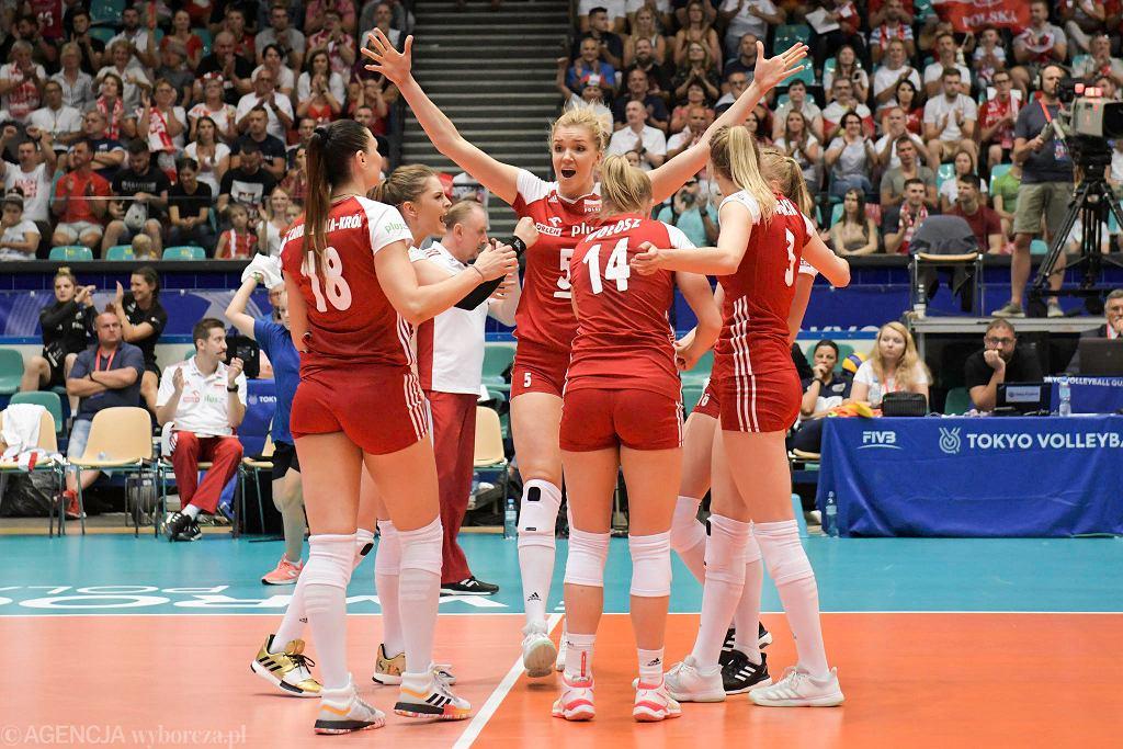 Wrocław. Polska - Tajlandia 3:2 (kwalifikacje do igrzysk olimpijskich w Tokio 2020)