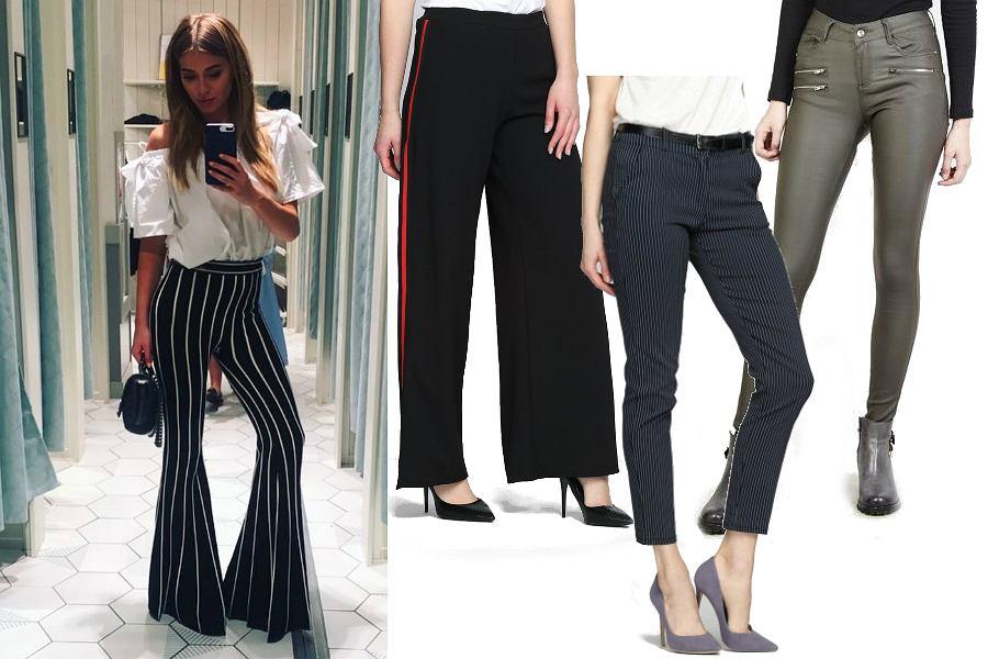 Eleganckie spodnie do 100 zł