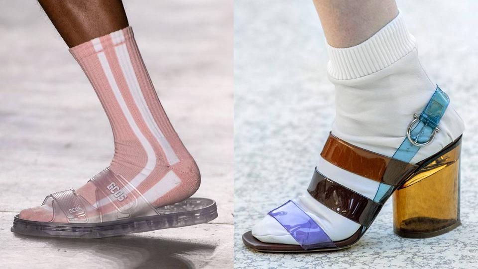 Skarpetki do klapków i sandałów