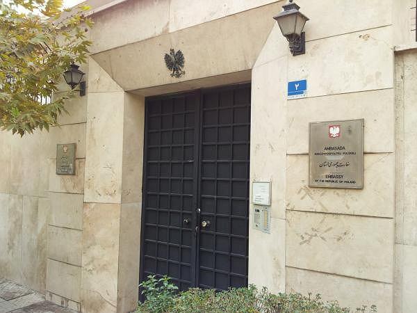 Ambasada RP w Teheranie