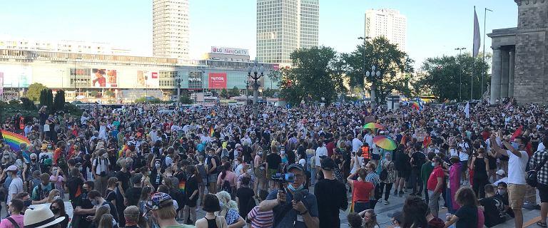 Manifestacja w Warszawie po aresztowaniu Margot