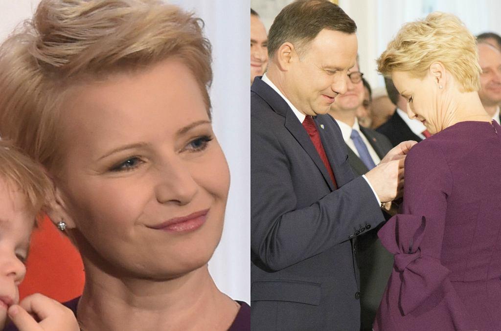 Małgorzata Kożuchowska, Andrzej Duda