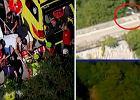 Dramat gwiazdy Tour de Pologne. Spadł z wiaduktu w przepaść [WIDEO]