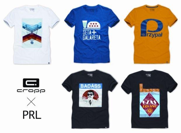 Koszulki z kolekcji Cropp: powrót do przeszłości
