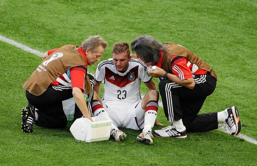 Christoph Kramer znokautowany podczas finału mundialu w Brazylii