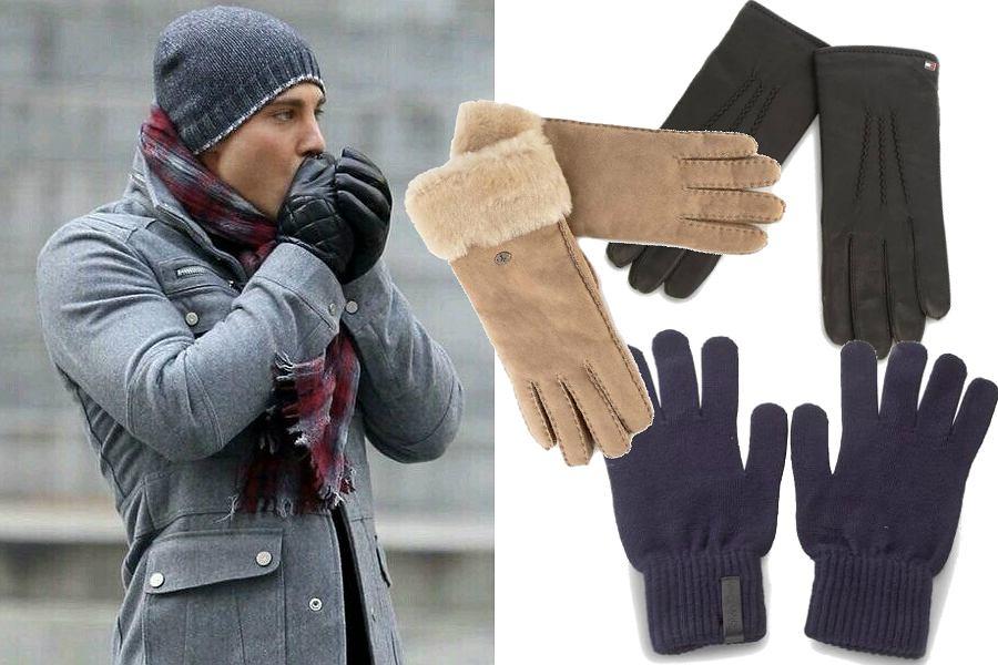 Ciepłe dodatki - rękawiczki