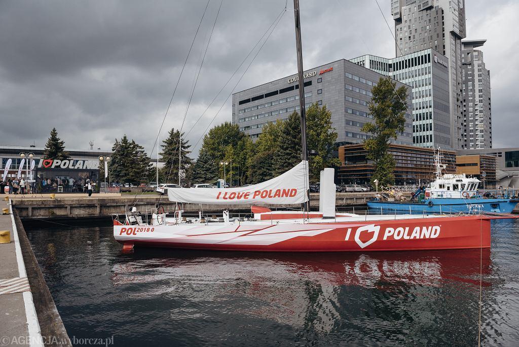 Jacht 'I Love Poland' Polskiej Fundacji Narodowej