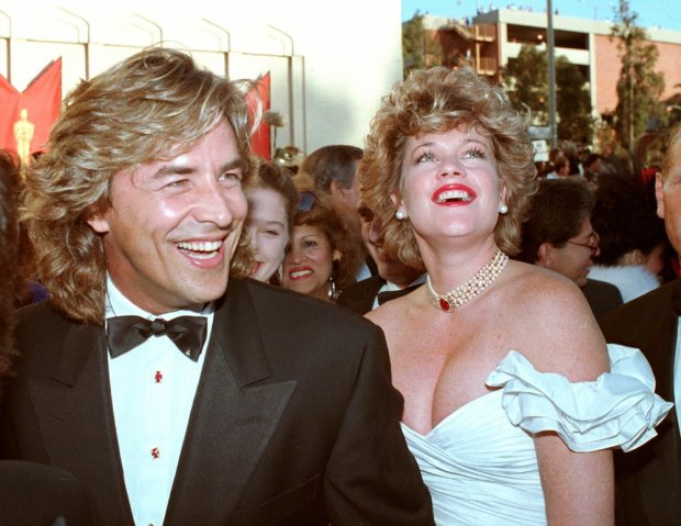 Don Johnson, Melanie Griffith
