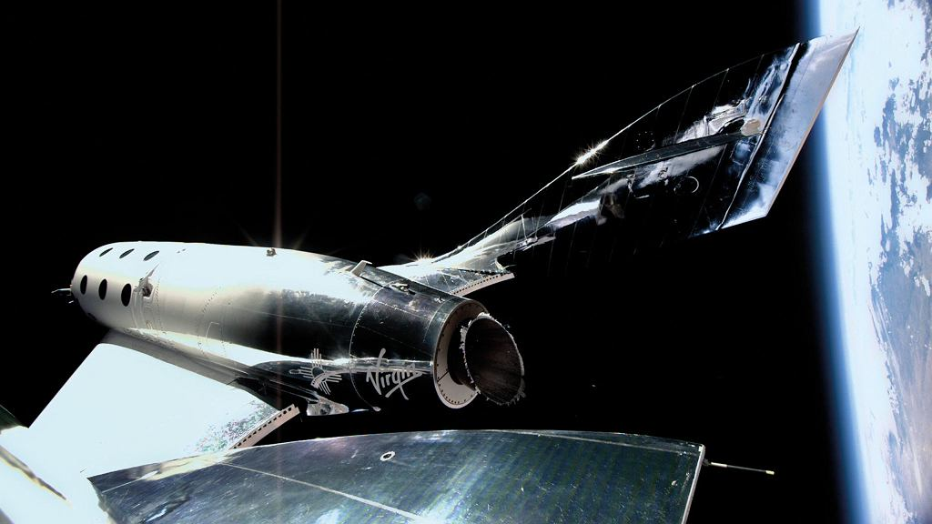 Samolot kosmiczny firmy Virgin Galactic