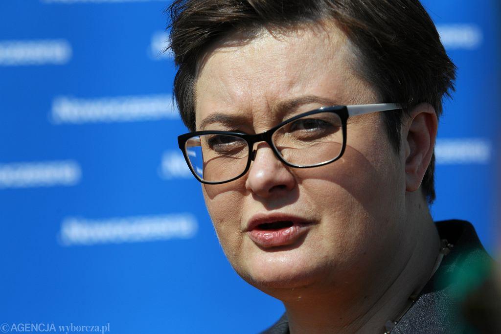 Katarzyna Lubnauer o groźbach pod jej adresem : to jest efekt nakręcania spirali nienawiści w mediach publicznych/ zdj. ilustracyjne