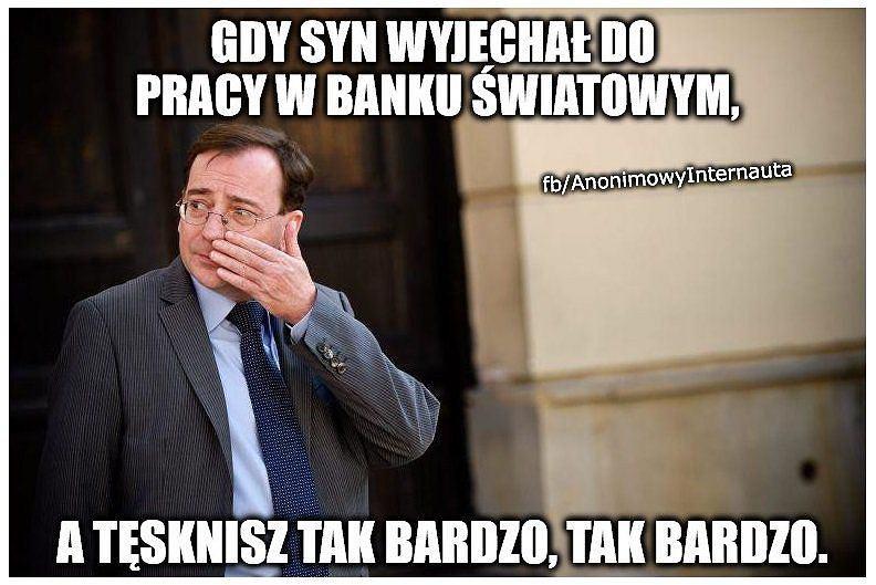 Memy Mariusz Kamiński Załatwił Synowi Pracę Posada W Banku