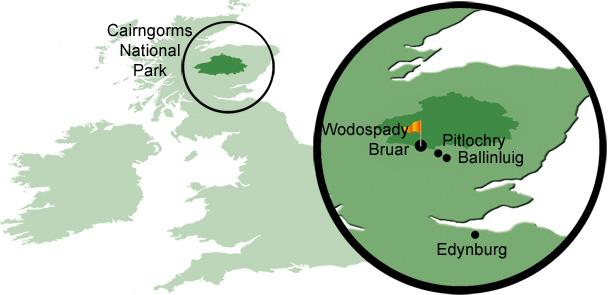 Mój pierwszy raz: kanioning, sport, mój pierwszy raz, Cairngorms - największy park narodowy Wielkiej Brytanii