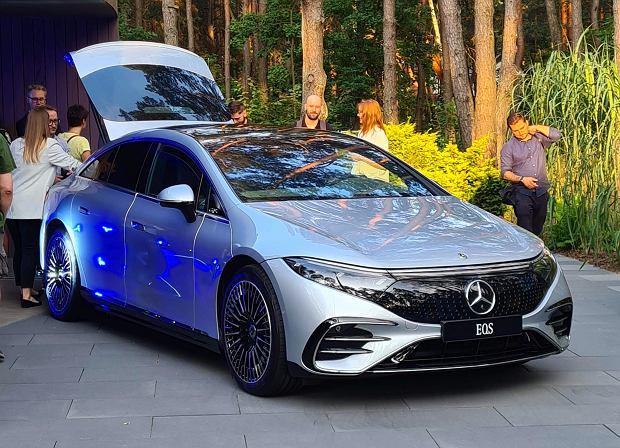 Mercedes EQS już w Polsce. Wiemy jakich cen można się spodziewać