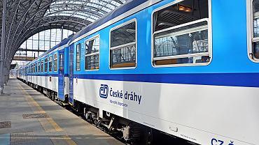Pociąg przewoźnika Ceske Drahy.
