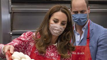 Księżna Cambridge w piekarni