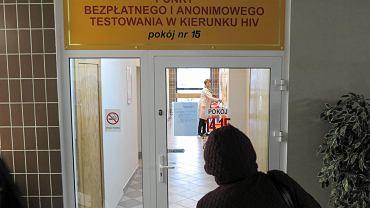Punkt bezpłatnego i anonimowego testowania w kierunku HIV