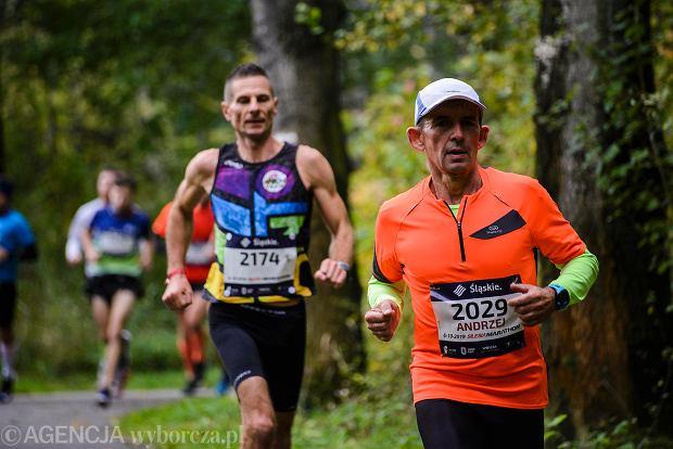 Zdjęcie numer 74 w galerii - Silesia Marathon. Chłód i wiatr niestraszne, rekord pobity! [ZDJĘCIA]
