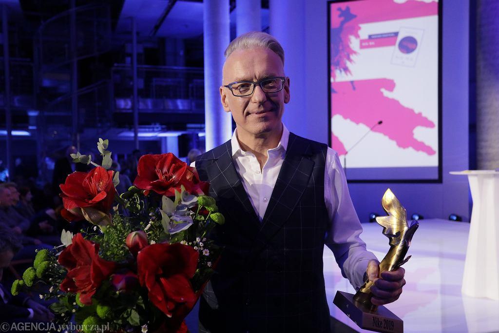 Mariusz Szczygieł z nagrodą Nike