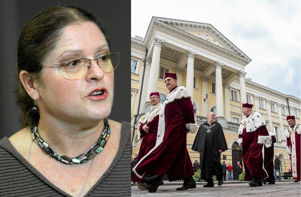Krystyna Pawłowicz (PiS) skrytykowała Wydział Prawa i Administracji na Uniwersytecie Warszawskim
