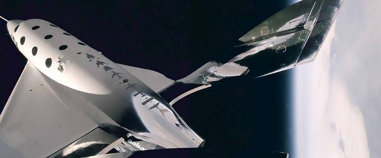Pierwszy kosmiczny lot Virgin Galactic zakończony powodzeniem