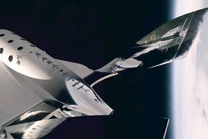 Virgin Galactic po raz pierwszy w kosmosie. Spore osiągnięcie firmy Bransona