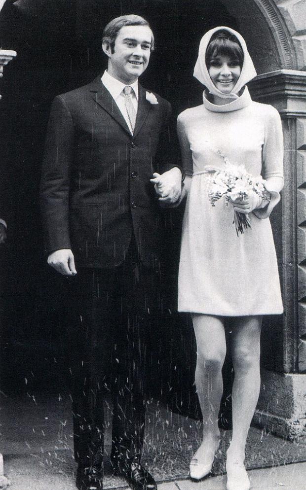 Audrey Hepburn - ślub z Andreą Dottim