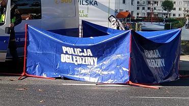 Śmiertelny wypadek przy ul. Sokratesa