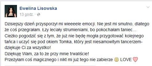 Wpis Eweliny Lisowskiej