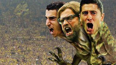 Borussia jako trójgłowy potwór: Henrich Mchitarian, Jurgen Klopp i Robert Lewandowski