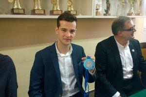 Taekwondo. Jarosław Mecmajer: Planowałem piąte miejsce, jestem wicemistrzem Europy