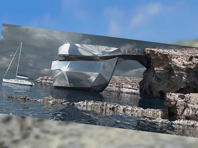 Lazurowe Okno na Malcie mogłoby zostać odbudowane. Ze stali