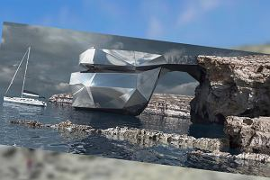 Odbudują słynne Lazurowe Okno na Malcie? Miałoby powstać ze... stali