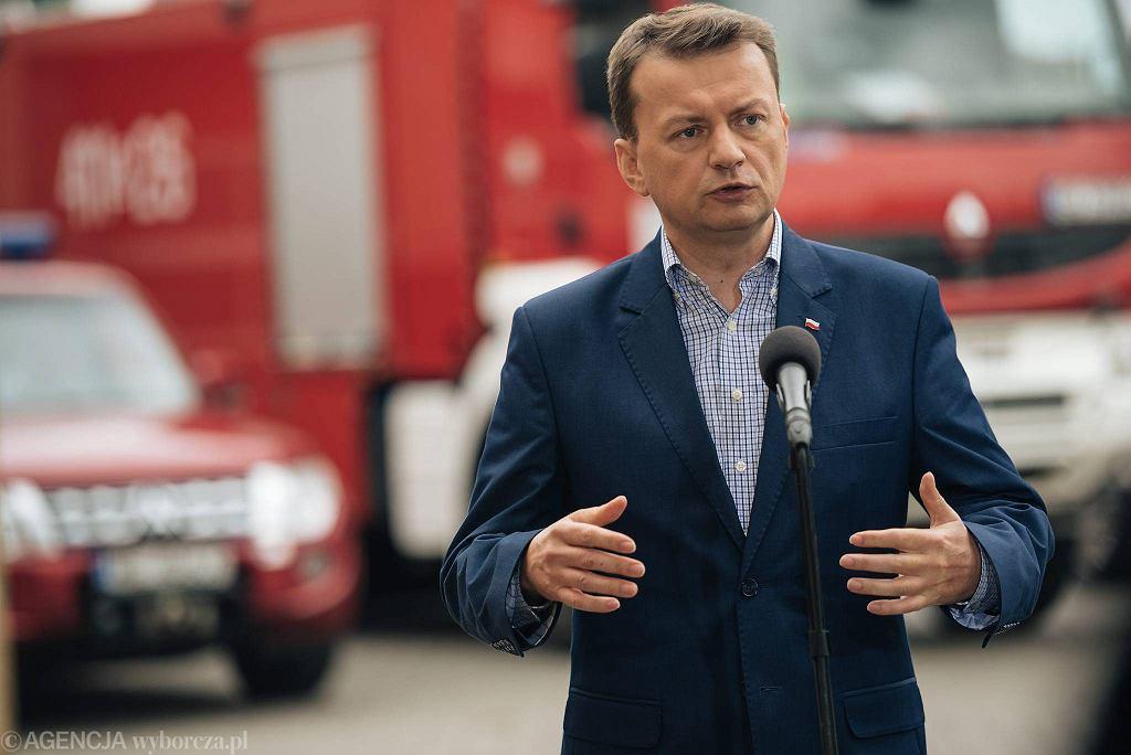 Mariusz Błaszczak.