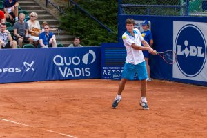 Koniec kariery Kamila Majchrzaka w Poznań Open. Tym razem przegrał