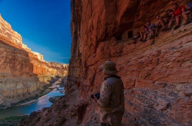 Podróżując Kolorado napotyka się ruiny osiedli Anasazi sprzed 1000 lat. Najsławniejsze są spichlerze Nankoweap wybudowane na pionowej ścianie kanionu fot. Stefan Danielski