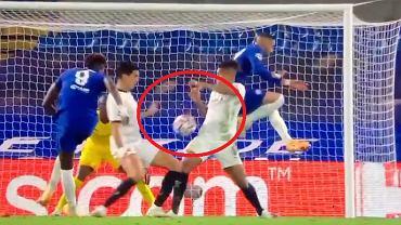 Ręka Dalberta w meczu Chelsea - Rennes