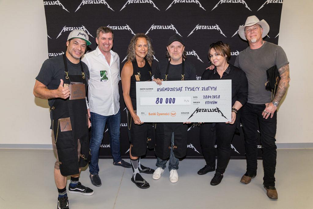 Metallica wsparła Federację Polskich Banków Żywności