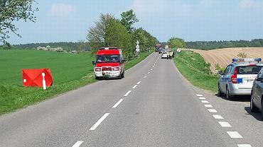 Tragiczny wypadek we Wlewsku. Matka zginęła na oczach dzieci