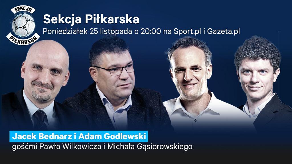 Jacek Bednarz i Adam Godlewski gośćmi Sekcji Piłkarskiej