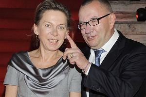 Rafał Bryndal z żoną